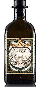 V - SINNE Schwarzwald Dry Gin 50 cl / 45 % Deutschland