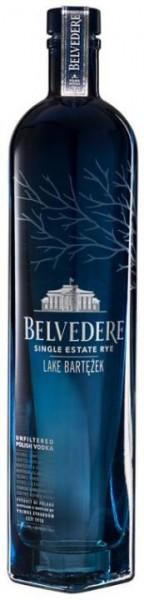 Belvedere LAKE BARTEZEK Single Estate Rye Vodka 70 cl / 40 % Polen