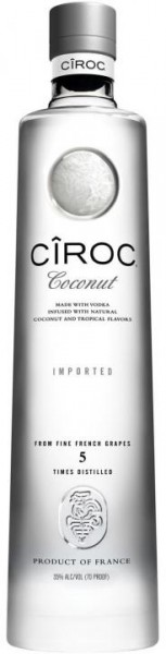CIROC Coconut Vodka 70 cl / 37.5 % Frankreich