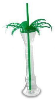 YARD CUP PALME inkl. Deckel & Trinkhalm 300 ml