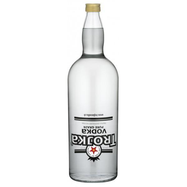TROJKA PURE GRAIN Vodka Gallone 4.55 Liter / 40 % Schweiz