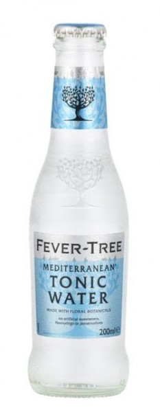 FEVER-TREE MEDITERRANEAN TONIC Water 200 ml UK