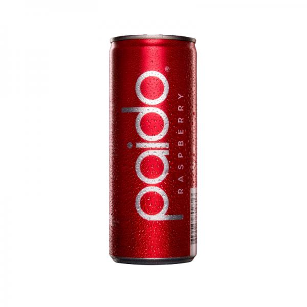 Paido Soda RASPBERRY kalorienarmes Erfrischungsgetränk 250 ml Schweiz