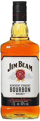 JIM BEAM White Label MAGNUM Kentucky Straight Bourbon Whiskey 1.5 Liter / 45 % USA