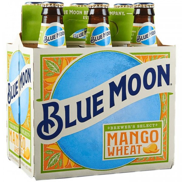BLUE MOON MANGO Wheat Beer Kiste 24 x 355 ml / 5.4 % USA