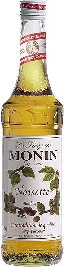 MONIN Premium Noisette / Hazelnut Sirup 70 cl Frankreich