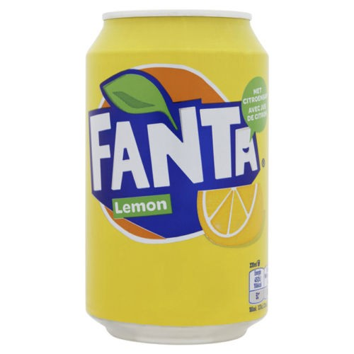 Fanta Lemon 330 ml UK