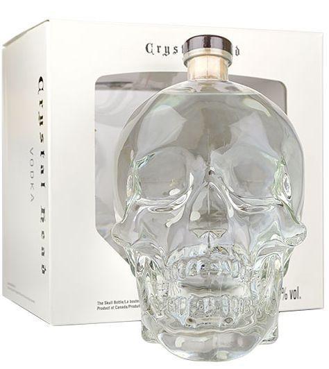 Crystal Head Vodka Doppel - Magnum Skullflasche 3 Liter / 40 % Kanada