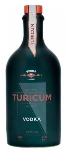TURICUM VODKA 50 cl / 41.5 % Schweiz