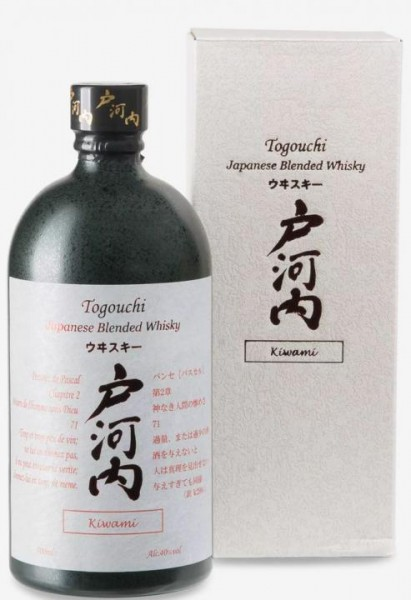 TOGOUCHI KIWAMI Blend Premium Japanese Whisky 70 cl / 40 % Japan
