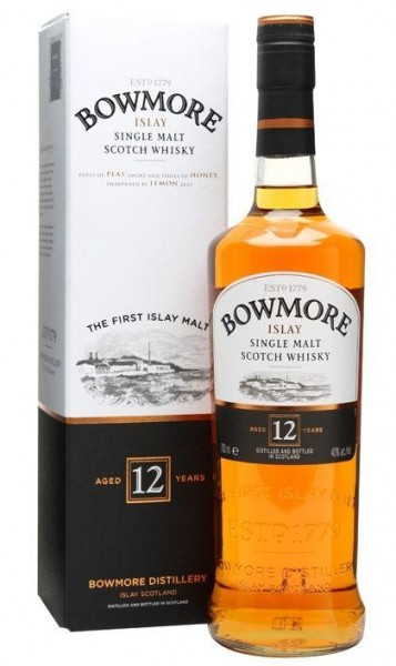 BOWMORE 12 Years Islay Single Malt Scotch Whisky 70 cl / 40 % Schottland