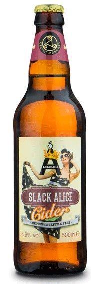 SLACK ALICE Cider 330 ml / 4.6 % UK