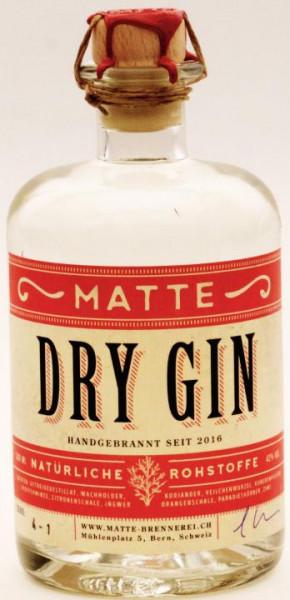 MATTE Dry Gin 50 cl / 42 % Schweiz