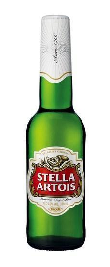 Stella Artois Lagerbier 24 x 330 cl / 5 % Belgien