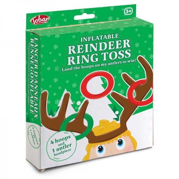 Drinking game reindeer rings throwing by Tobar