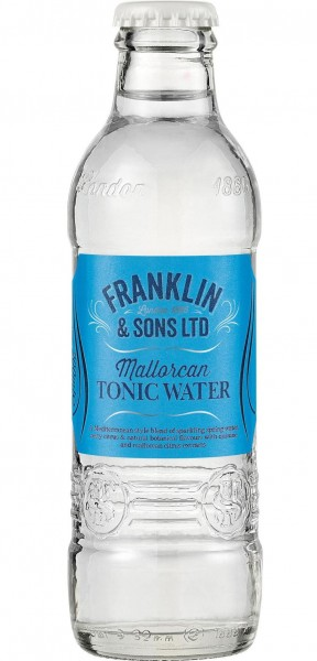 Franklin & Sons MALLORCAN TONIC Water 200 ml UK
