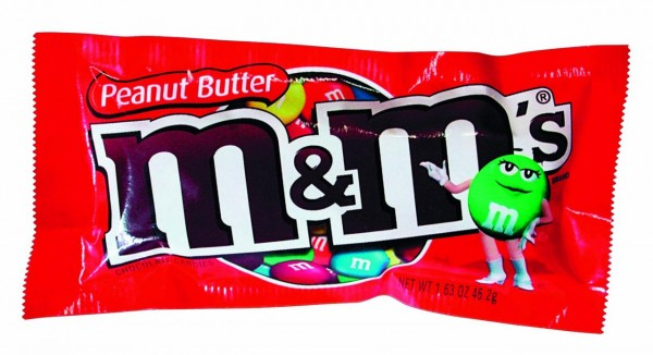 M&M's Peanut 46.5 Gramm USA