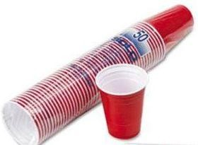 Solo RED Cups 16 oz - Beer Pong Becher Stange a 50 Stk. x 16 oz / 473 ml USA