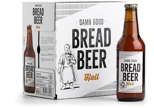 Damn Good BREAD BEER Hell Kiste 24 x 330 ml / 4.8 % Schweiz