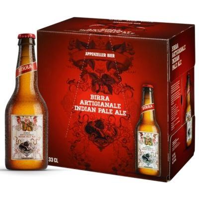 Appenzeller IPA Bier Kiste 24 x 330 ml / 8 % Schweiz
