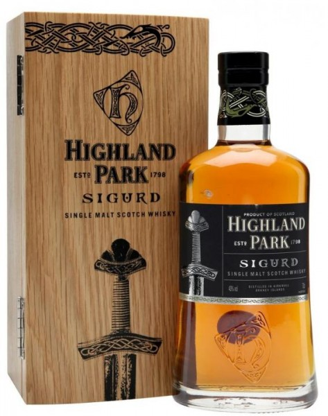 Highland Park Single Malt Scotch Whisky SIGURD 70 cl / 43 % Schottland