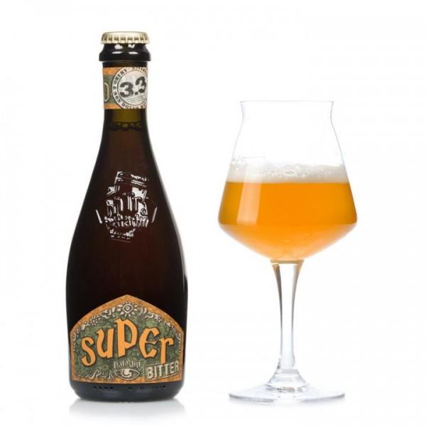 Birra BALADIN SUPER BITTER Hoppend Belgian Ale Starkbier 330 ml / 8 % Italien