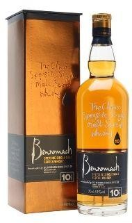 BENROMACH 10 Years Speyside single Malt Scotch Whisky 70 cl / 43 % Schottland