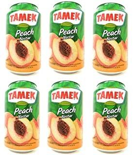 TÜRTAMEK Peach Nectar Kiste 24 x 330 ml Türkei