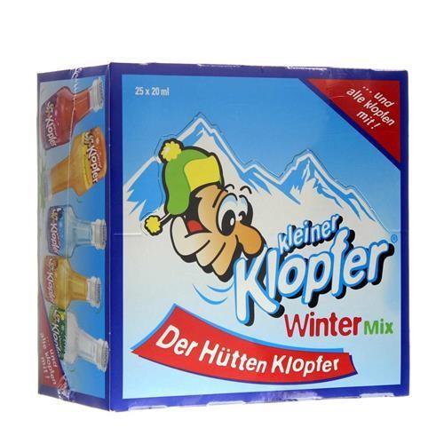 Kleiner KLOPFER WINTER Mix Box 25 x 20 cl / 16 % Italien