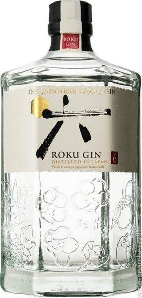 ROKU The Japanese Craft Gin 70 cl / 43 % Japan