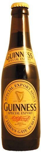 GUINNESS Special Export Bier 330 ml / 8 % Irland