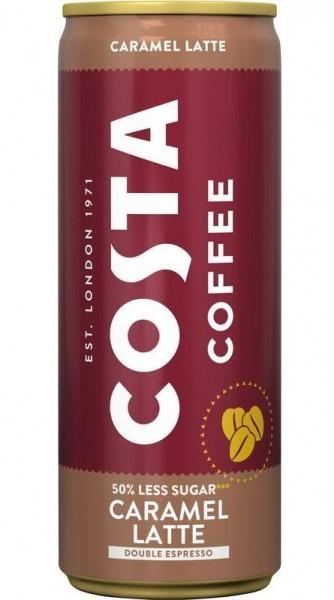 COSTA Caffee CARAMEL Latte 250 ml Schweiz
