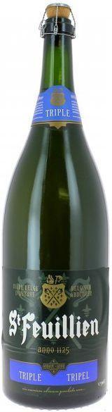 St Feuillien TRIPEL Salmanazar Flasche 9 Liter / 8.5 % Belgien