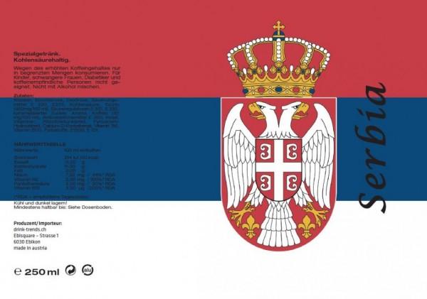 SERBIA Energy Drink 250 ml