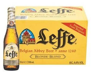 Leffe Blonde 24 x 330 cl / 6.6 % Belgien