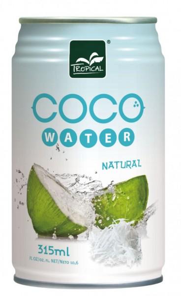 Tropical COCO Water Natural 315 ml Thailand