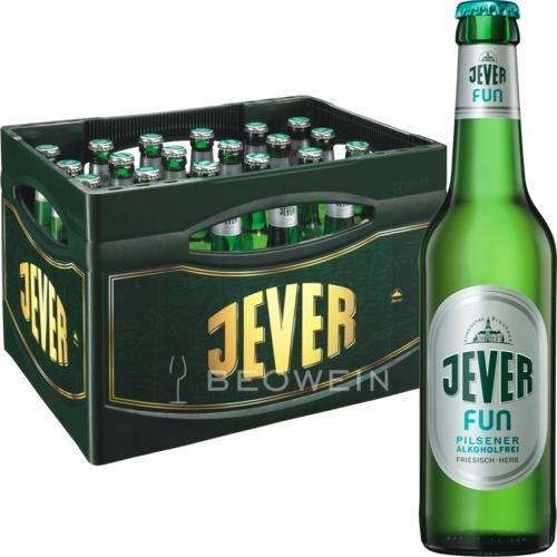 JEVER FUN Pilsener Alkoholfrei Kiste 24 x 330 ml Deutschland