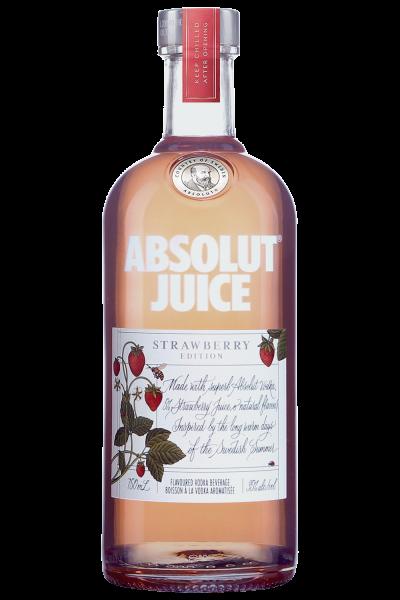 Absolut Vodka JUICE Strawberry 50 cl / 35 % Schweden