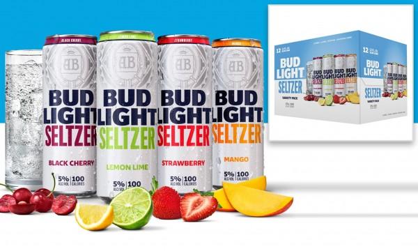 Bud Light Hard Seltzer Variety Pack 24 x 355 ml / 5 % USA