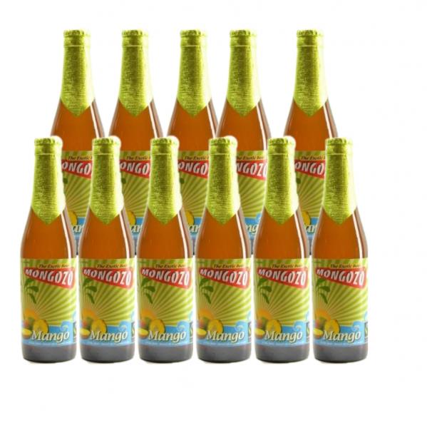 Mongozo Mango Bier Kiste 24 x 330 ml / 3.6 % Belgien