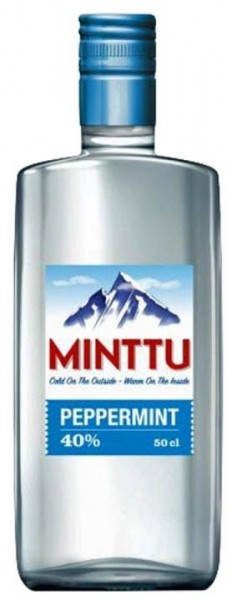 MINTTU Peppermint Likör 50 cl / 35 % Finnland