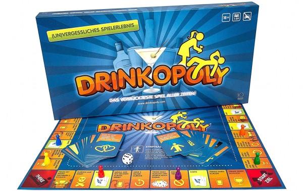 DRINKOPOLY Trinkspiel Gesellschaftsspiel für Erwachsene