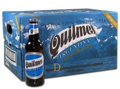 Quilmes Lager Bier 24 x 340 ml / 4.9 % Argentinien
