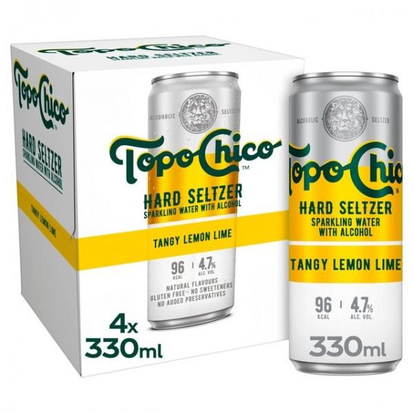 Topo Chico Hard Seltzer LEMON Lime Kiste 24 x 330 ml / 4.7 % USA
