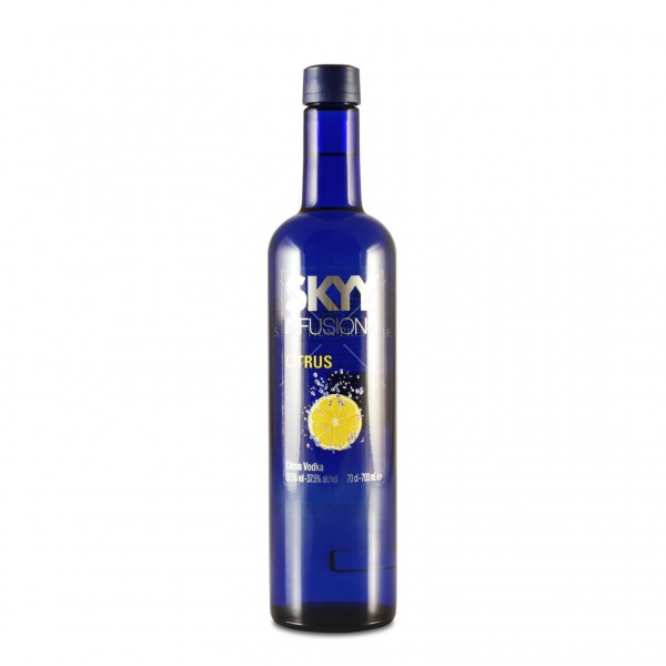SKYY CITRUS Infusions Premium Vodka 70 cl / 37.5 % USA