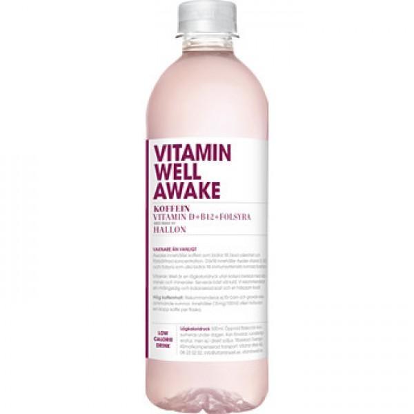 Vitamin Well AWAKE 500 ml Schweden