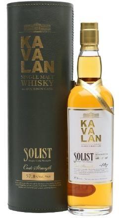KAVALAN SOLIST Ex-Bourbon cask Taiwan Whiskey 70 cl / 58.6 % Taiwan