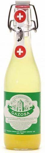 GAZOSA Fiorenzana ALL`ARANCIA AMARA Bügelflasche 350 ml Schweiz