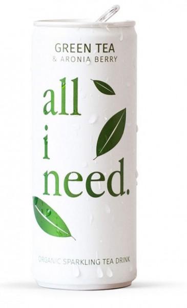 all I need GEEN TEA Bio Teegetränk 250 ml Österreich