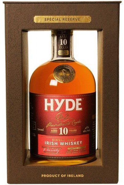 Hyde Irish Single Malt Rum Finish 10 Years 70 cl / 46 % Irland